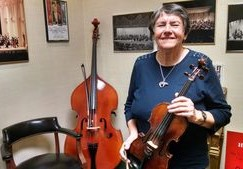 A violinist joins the all-time list of longest serving players