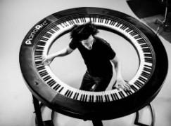 A piano with 294 keys