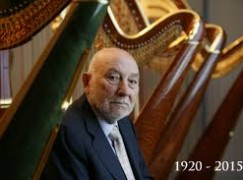 A legend among harpists has died