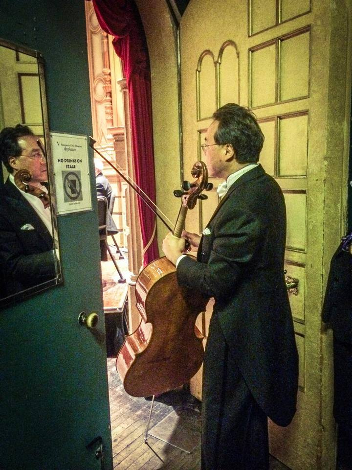 yo yo ma in the wings
