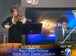 Iowa gets a woman concertmaster