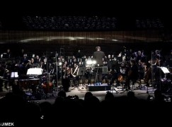 Video: A Polish orchestra trashes down