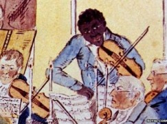 A slave violinist is finally honoured