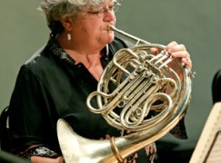 The first woman brass player at the Met