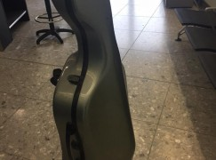The tenor's airline sold my cello's seat