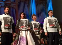 Netrebko leads Russian star tribute to Dmitri Hvorostovsky