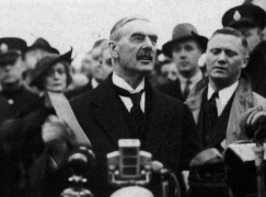 Neville Chamberlain received a Blüthner as reward for 'peace for our time'