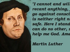 German composer: 'Luther's views on Jews are outrageous'