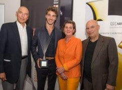 Maestro move: Swiss winner gets his first orchestra