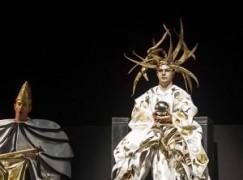 Disaster: Tenor breaks his back in Puccini fall