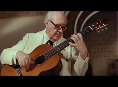 The night Segovia strummed for Groucho Marx