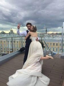михаил татарников и анжелина воронцова свадьба фото