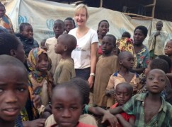 Orchestra violinist flies off to aid African refugees