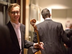 Just in: Leipzig's new principal cello is French