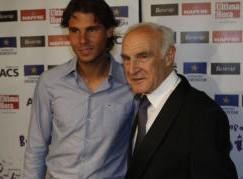 Rafa Nadal mourns his maestro grandfather