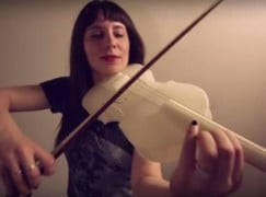 Hear the sound of the 3-D printed violin