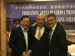Maestro move: Arena di Verona appoints Chinese chief