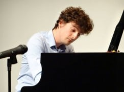 Lone Brit plays on in Chopin second round