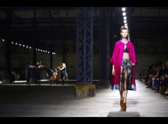 Did you see the string quartet at Paris Fashion Week?
