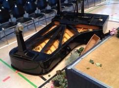 A piano falls apart, 90 mins before concerto