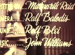 Was this John Williams' first film score?