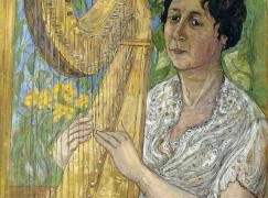 Death of Russia's foremost harpist