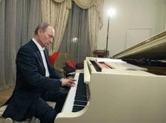 Vladimir Putin's birthday picture