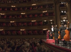 18 maggio 2015,Milano, Teatro alla Scala Direttore Riccardo ChaillyPianoforte Maria João PiresLudwig van BeethovenConcerto per pianoforte no.4Dmitrij ŠostakovičSinfonia no.5