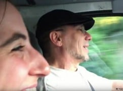 Moving video: Austrian rescuer teaches Syrian refugees a Yiddish song