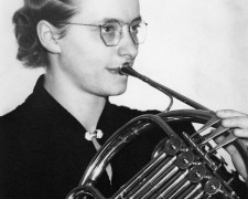 Musical firsts: A woman principal in a US orchestra