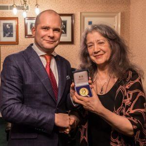 martha argerich gold medal