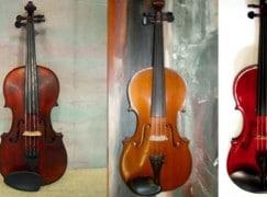 Australian thief steals three violas, a violin and a cello