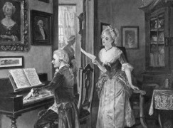 Mozart's girls got 'pretty ditties, some intimate, one obscene'
