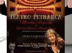 Argerich to inaugurate Italian theatre