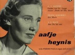 Holland's Kathleen Ferrier has died