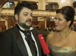 West End shame: Anna Netrebko is turfed out of her theatre seat