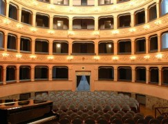 A small town in Italy reopens its 18th century opera house