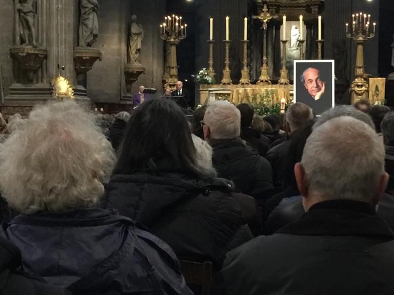 barenboim at boulez funeral