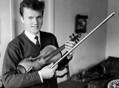 Which Maestro is this as a young man?