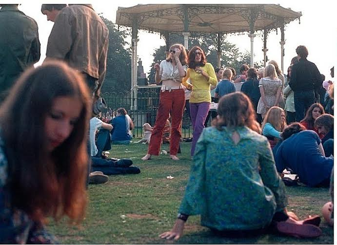 mary finnegan angie beckenham summer 1969