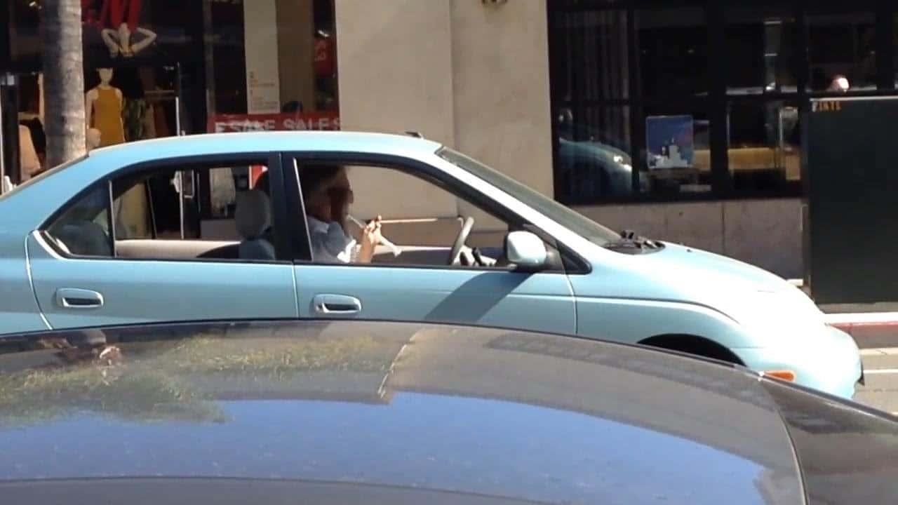 flute in car