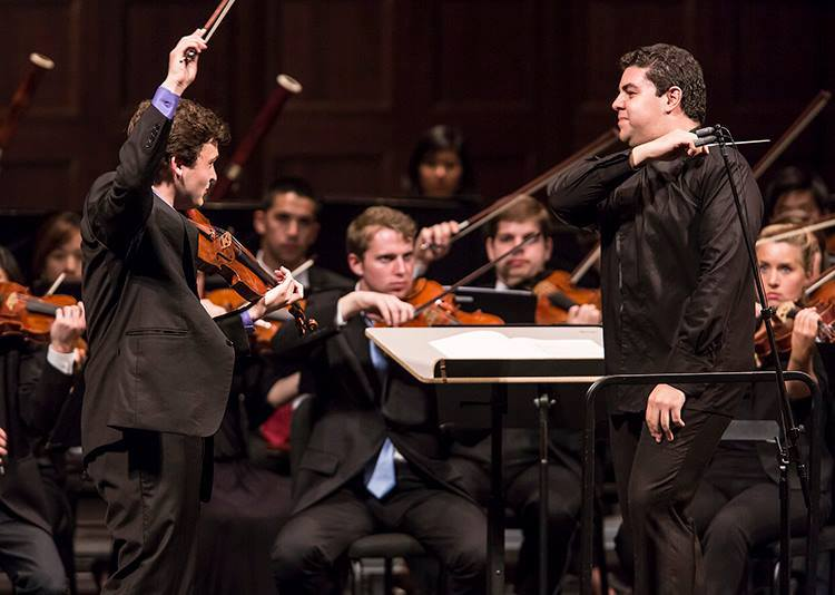 Two Verbier concertmasters win seats in the Chicago Symphony