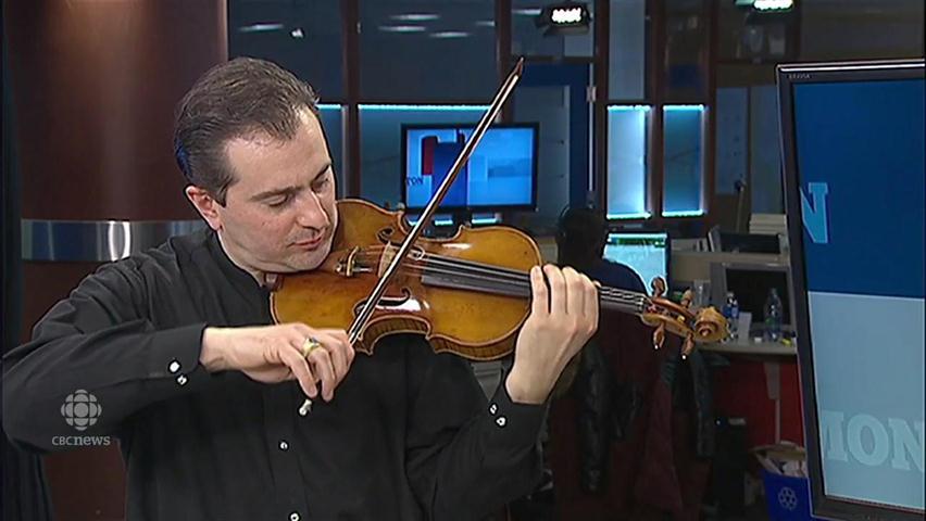 What the priciest Stradivarius sounds like (clue: catgut)