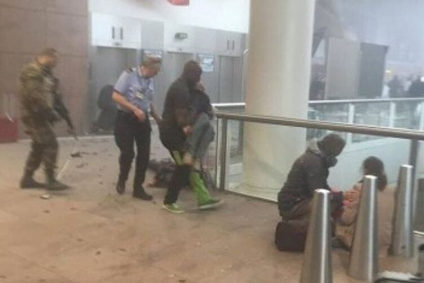 Brussels-Airport bomb
