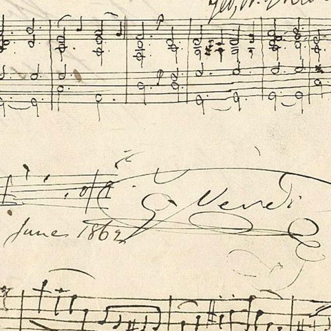 Verdi score