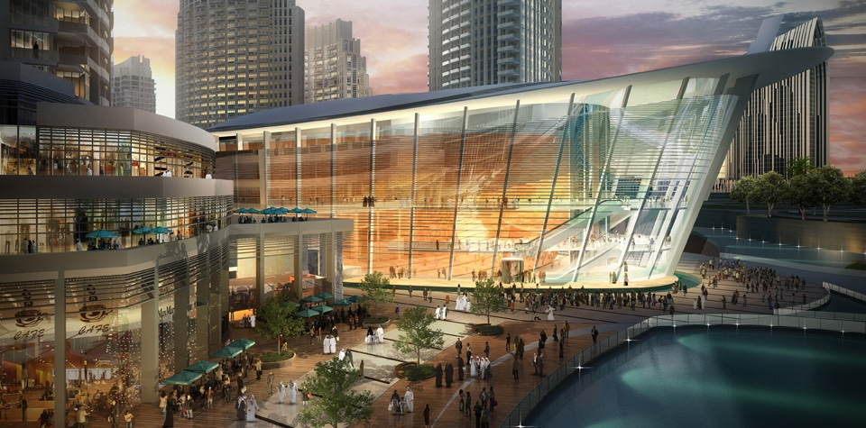 Why are the Arabs building opera houses?