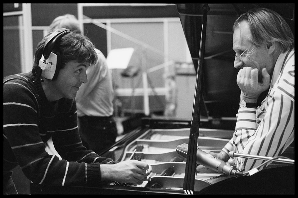 mccartney george martin