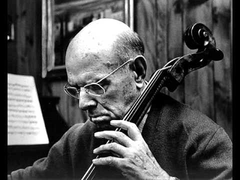 How's Casals' cello sounding these days?
