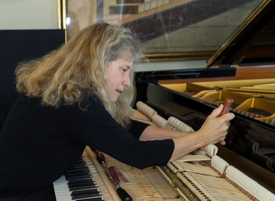 Why can't a woman be a piano tuner?