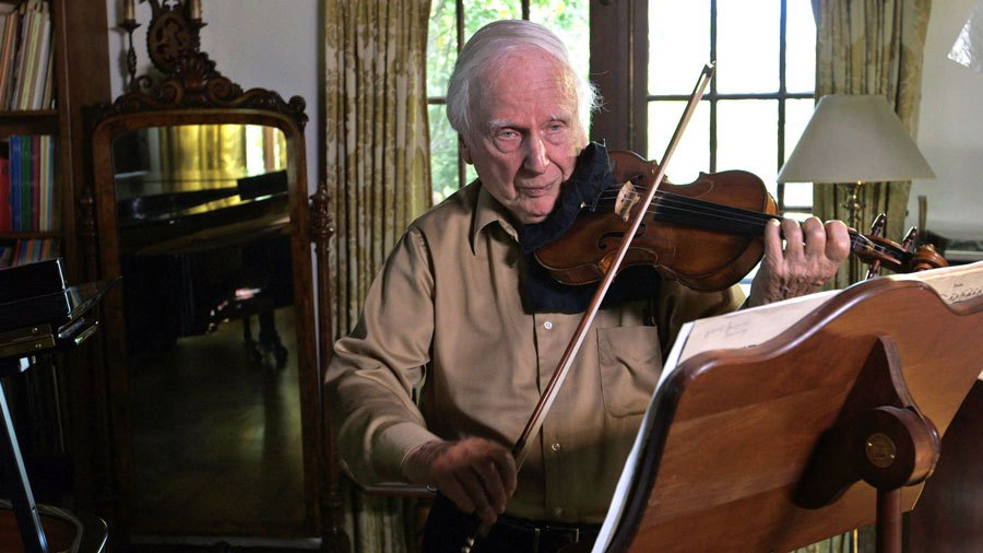 John Williams's concertmaster plays on at 90